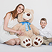Together with teddy bear - TeddyWay